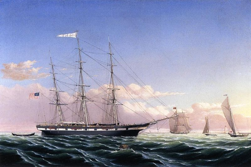 William Bradford Whaleship 'Jireh Swift' of New Bedford
