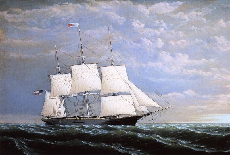 William Bradford Whaleship 'Syren Queen' of Fairhaven