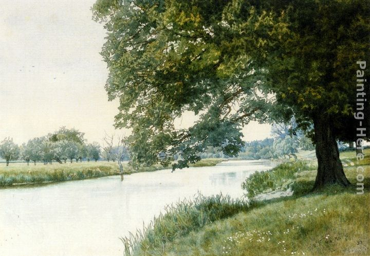 William Fraser Garden The River Ouse, Bedfordshire