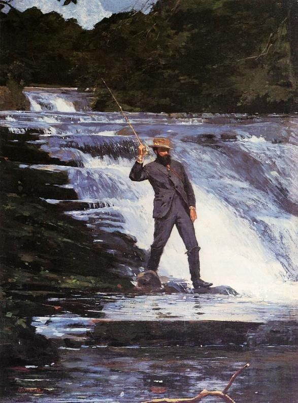 Winslow Homer Winslow The Angler