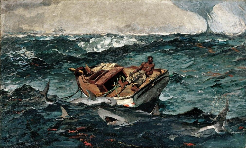 Winslow Homer The Gulf Stream