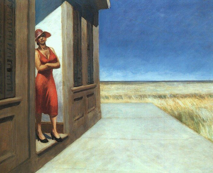 Edward Hopper Carolina Morning