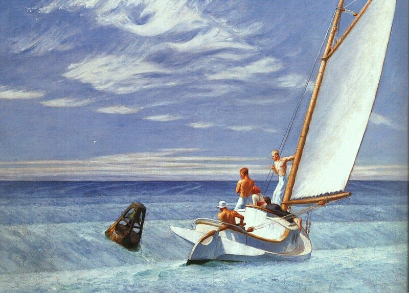 Edward Hopper Ground Swell
