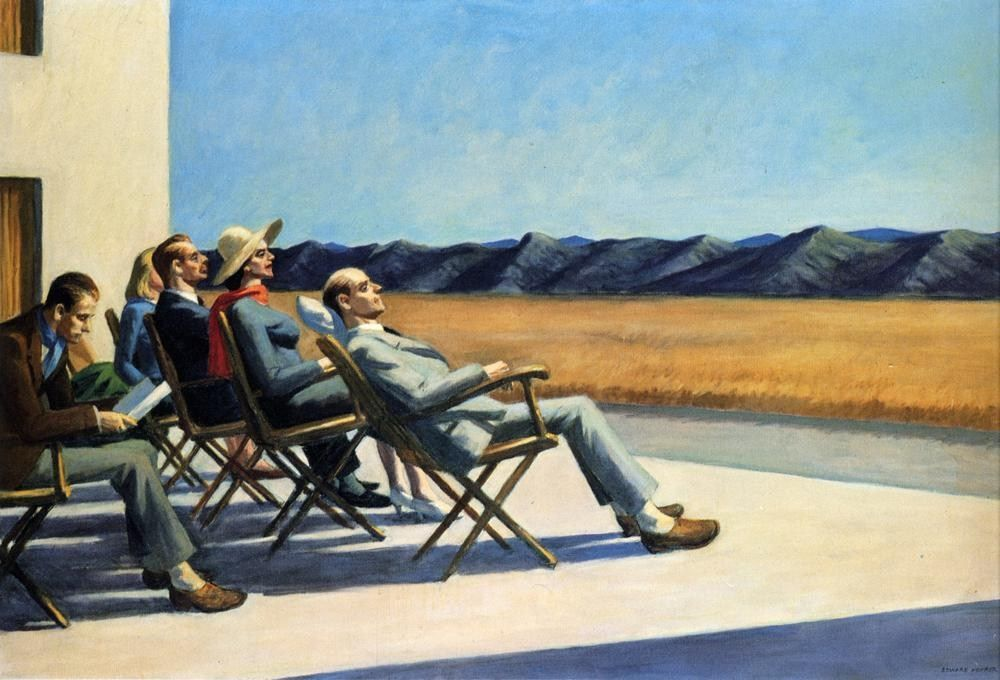 Edward Hopper People In The Sun