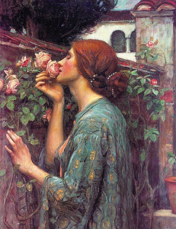 John William Waterhouse My Sweet Rose