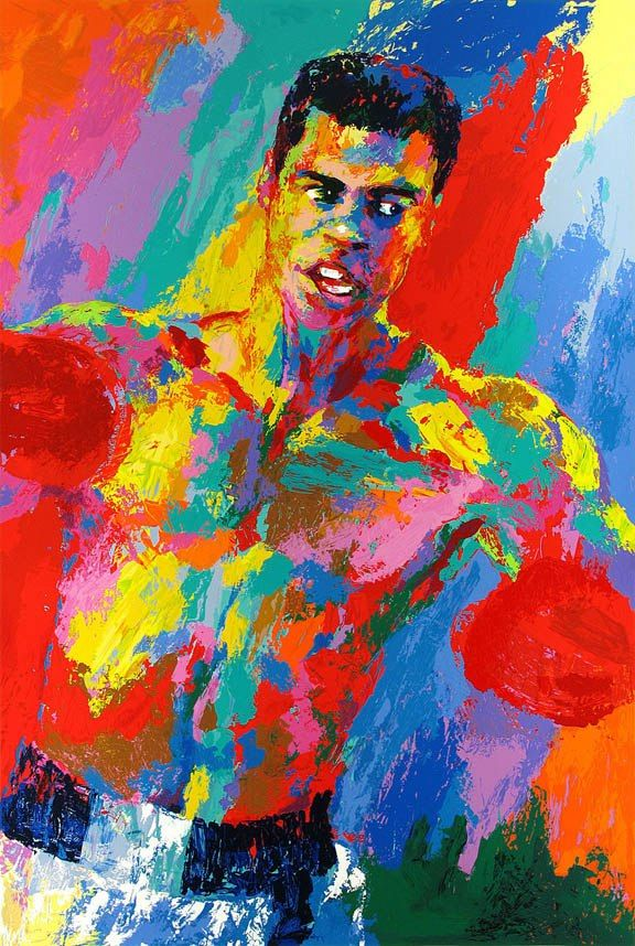 Leroy Neiman Muhammad Ali Athlete of the Century