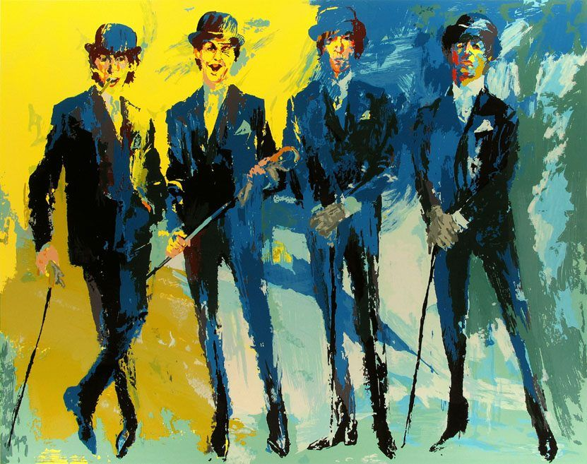 Leroy Neiman The Beatles