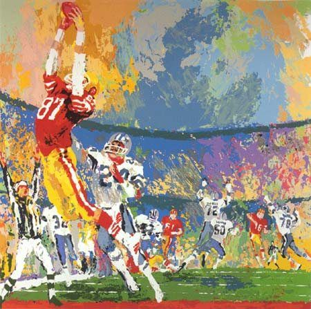 Leroy Neiman The Catch