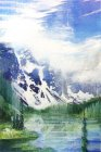 2012 Mountain I painting