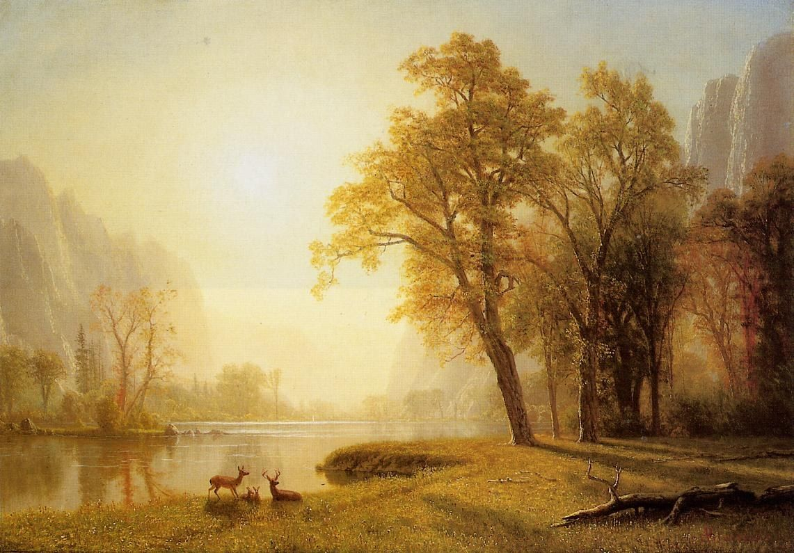 Albert Bierstadt Kings River Canyon California