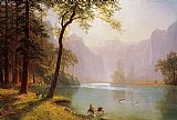 Albert Bierstadt Kerns River Valley California painting