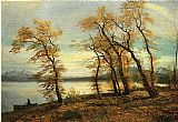 Albert Bierstadt Lake Mary California painting