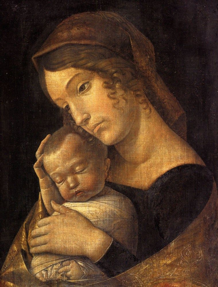 Andrea Mantegna Madonna with Sleeping Child