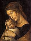 Andrea Mantegna Madonna with Sleeping Child painting