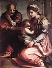 Andrea del Sarto Holy Family2 painting