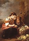 Bartolome Esteban Murillo The Little Fruit Seller painting