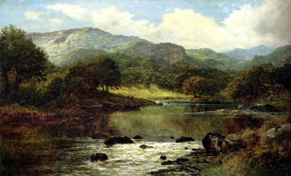 Image gallery old landscape paintings for Famous prints for sale