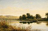 Benjamin Williams Leader Streatley-on-Thames painting