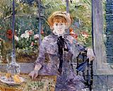 Berthe Morisot After Luncheon painting