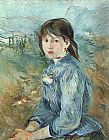Berthe Morisot The Little Girl from Nice painting