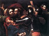 Caravaggio Taking of Christ painting