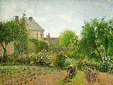 Camille Pissarro The Artist's Garden at Eragny painting