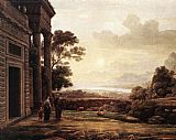 Claude Lorrain The Expulsion of Hagar painting