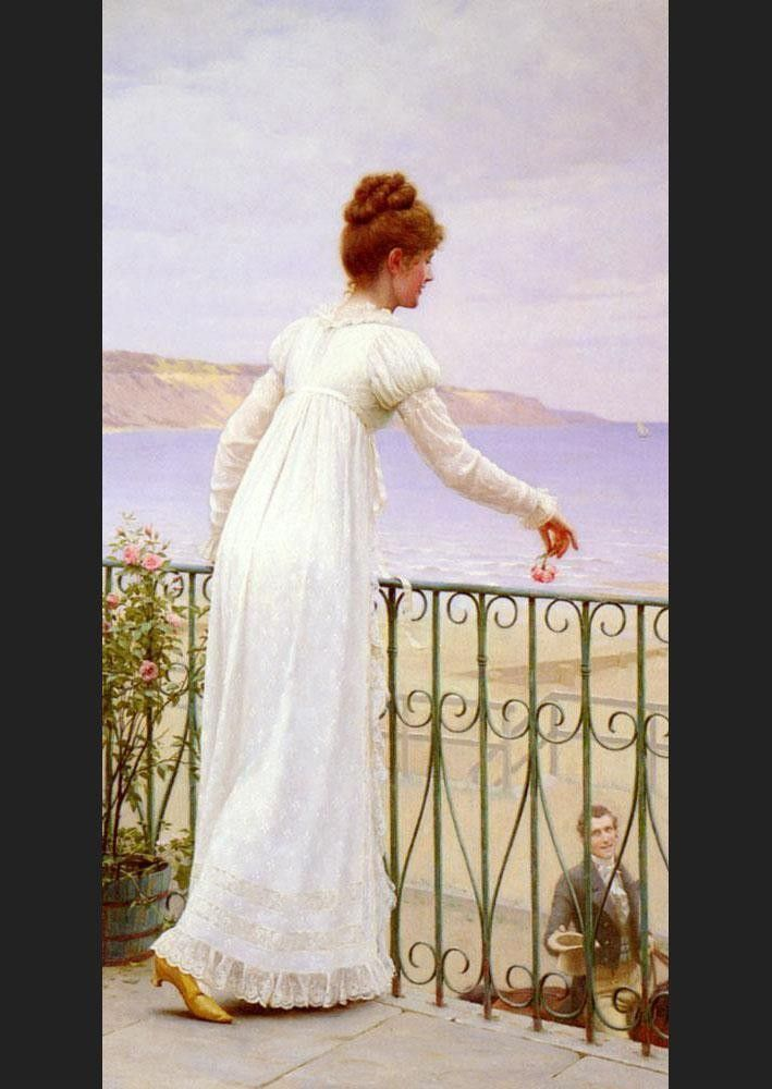 Edmund Blair Leighton A Favour