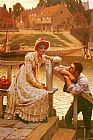 Edmund Blair Leighton Courtship painting