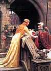 Edmund Blair Leighton God Speed painting