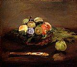 Edouard Manet Basket Of Fruit painting