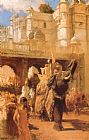 Edwin Lord Weeks A Royal Procession painting