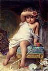 Emile Munier The Broken Vase painting