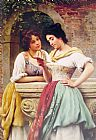 Eugene de Blaas Shared Correspondance painting
