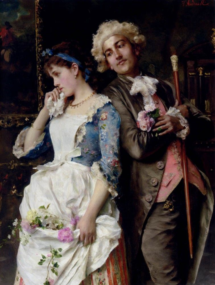 Federico Andreotti The Persistent Suitor