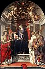 Filippino Lippi Signoria Altarpiece painting