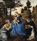 Filippino Lippi The Virgin and Child with Sts painting
