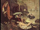 Ford Madox Brown Don Juan Discovered by Haydee painting