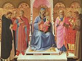 Fra Angelico Annalena Altarpiece painting