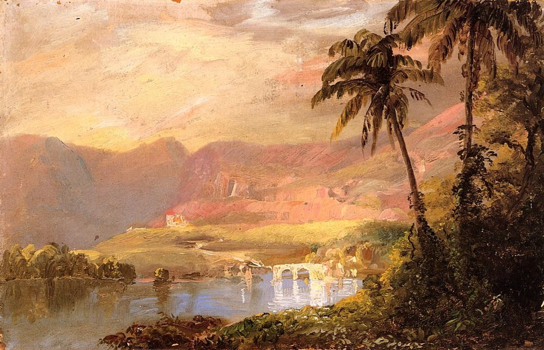 Frederic Edwin Church Tropical Landscape
