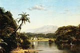 Frederic Edwin Church Scene on the Magdalena painting