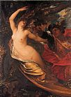 George Frederick Watts Orlando Pursuing the Fata Morgana painting