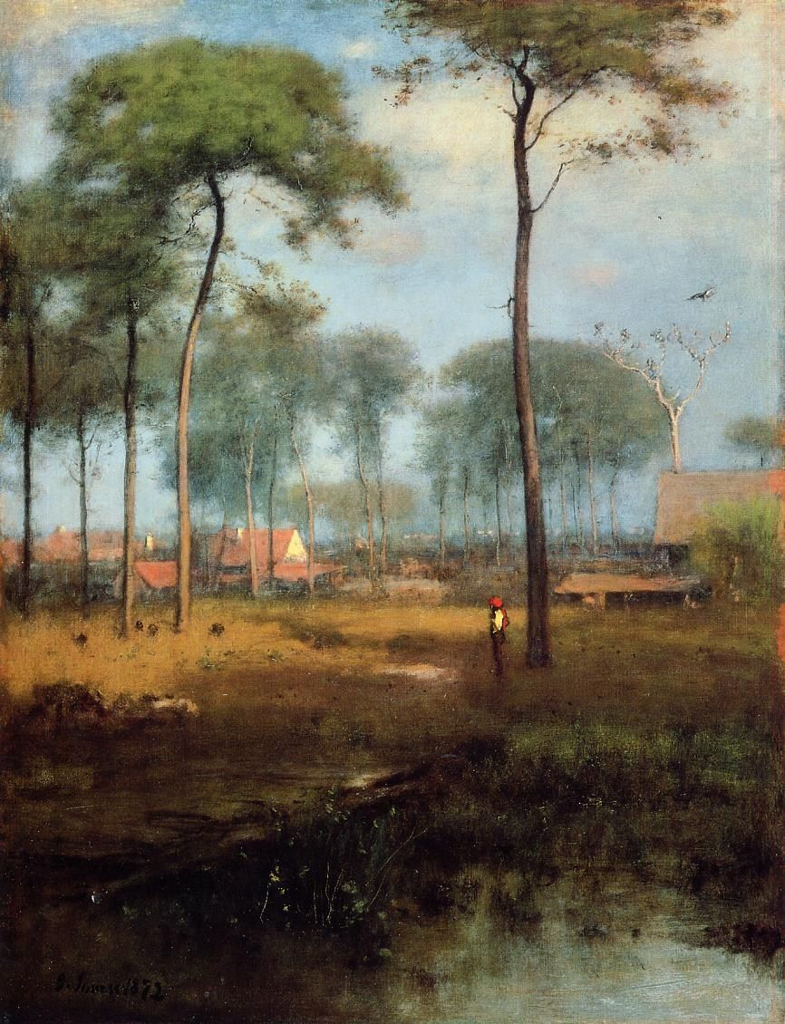 George Inness Early Morning Tarpon Springs