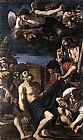 Guercino The Martyrdom of St Peter painting