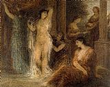 Henri Fantin-Latour The Bath painting