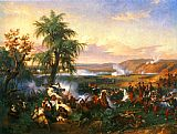 Horace Vernet The Battle of Habra painting