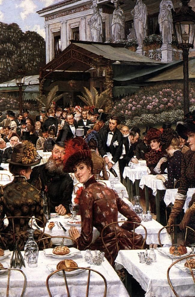 James Jacques Joseph Tissot The Artist's Ladies