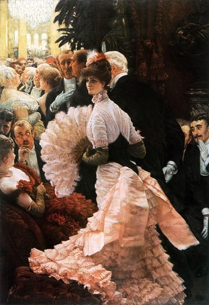 James Jacques Joseph Tissot The Political Lady
