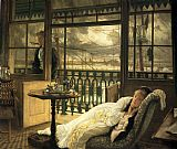 James Jacques Joseph Tissot A Passing Storm painting