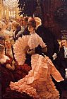 James Jacques Joseph Tissot A Woman of Ambition painting